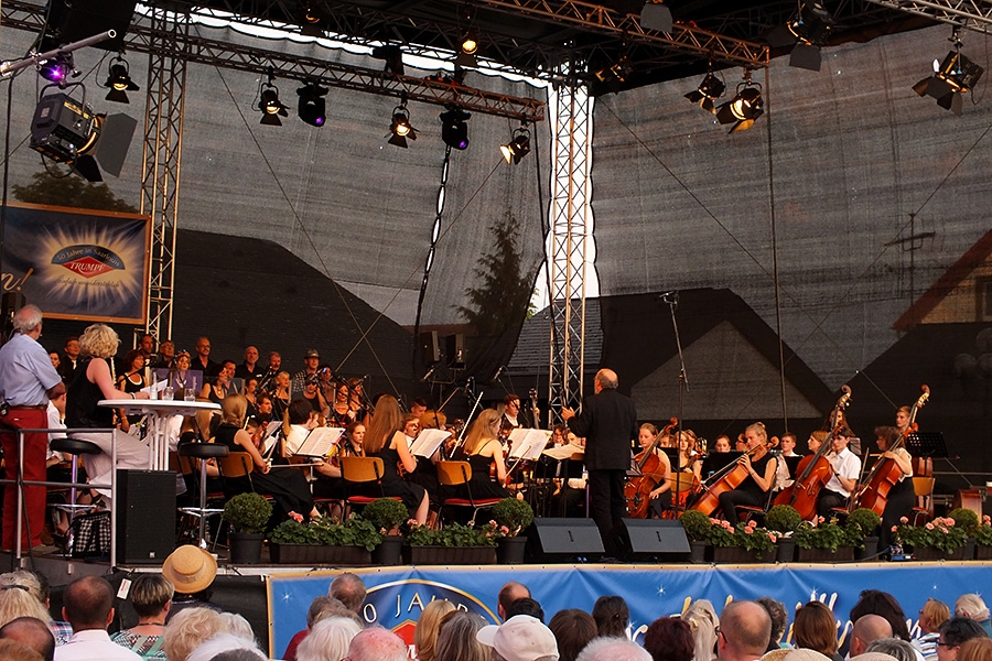 Dietmar Strauß mit Jazzchor United Voices