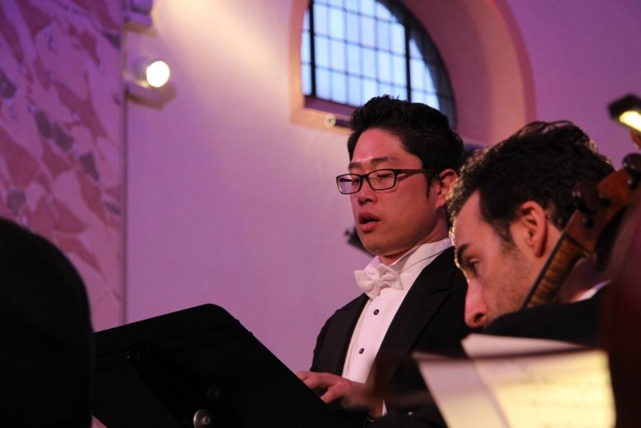 Sinfonie Nr. 3 mit Tenor David-Ho Chul Lee